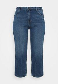 ONLY Carmakoma - CARSUNNY LIFE - Jeans Skinny Fit - dark blue denim - 0