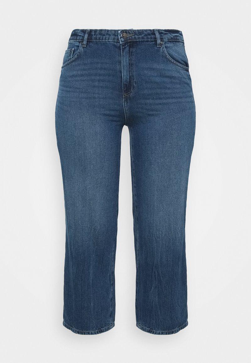 ONLY Carmakoma - CARSUNNY LIFE - Jeans Skinny Fit - dark blue denim