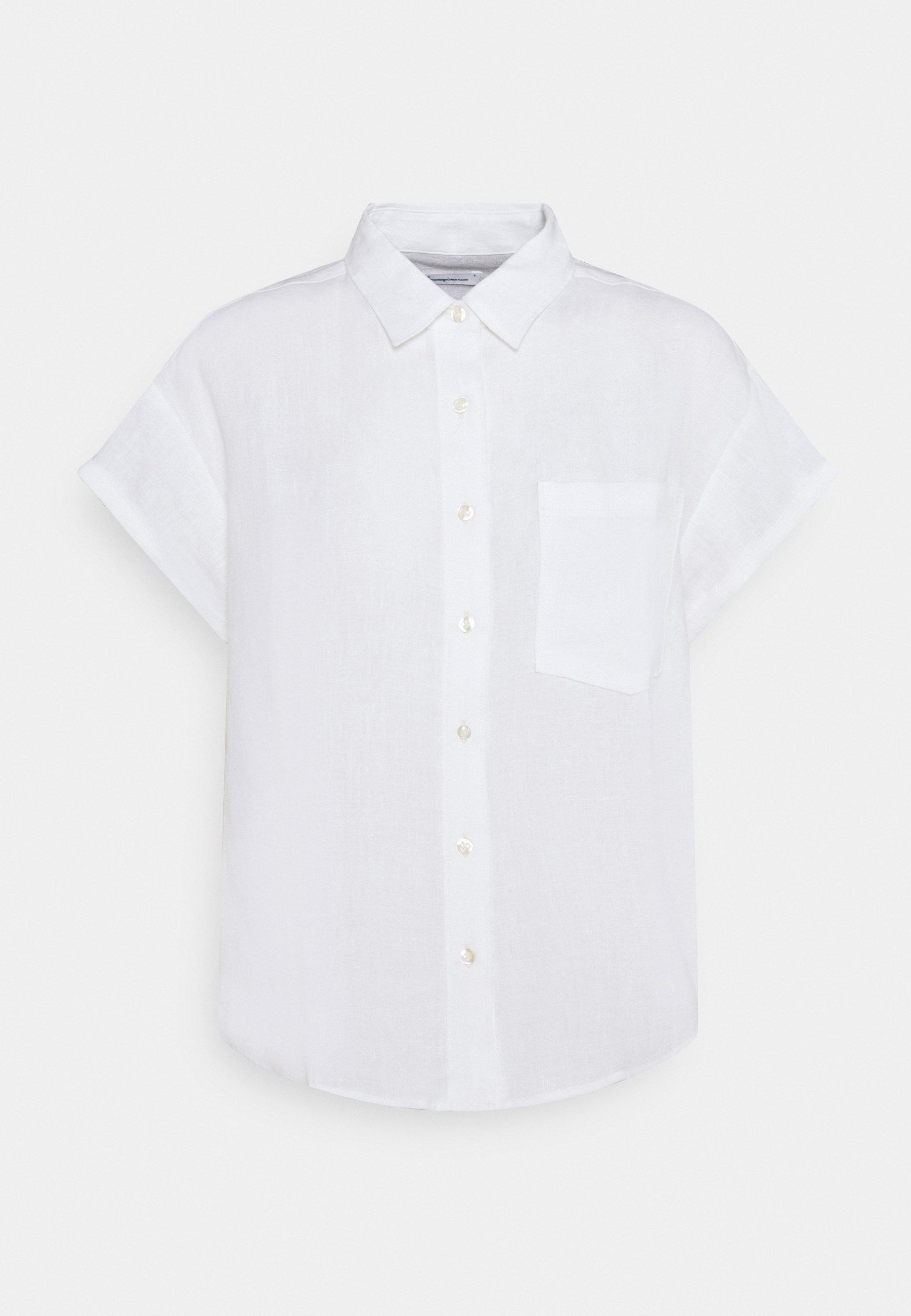 Women ASTER FOLD UP SHORT SLEEVE VEGAN - Button-down blouse
