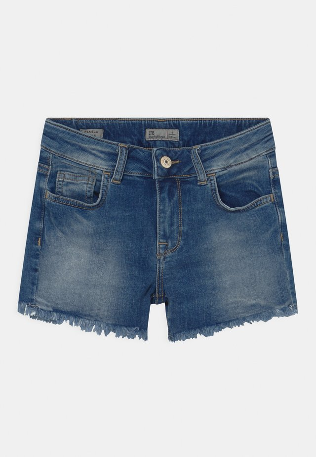 PAMELA - Shorts di jeans - lilliane wash