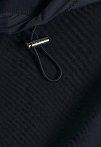Michael Kors - NYLON MIX ZIP HOODIE - Zip-up hoodie - midnight - 3