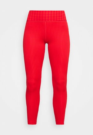 ONE - Legging - chile red/university red/white