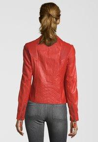 KRISS - NINA - Leren jas - fire red - 1
