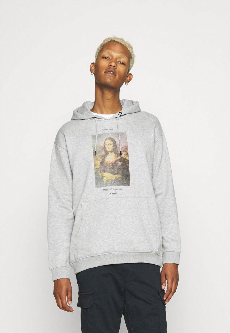 Nominal - MONA LISA HOOD - Sweatshirt - grey marl