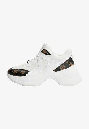 RUNNER JOEHLE 4G-LOGO PEONY-LOGO - Sneakers hoog - mehrfarbig, weiß