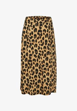 CUCARRIE - A-line skirt - leopard