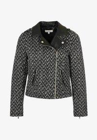 Morgan - Faux leather jacket - black - 4