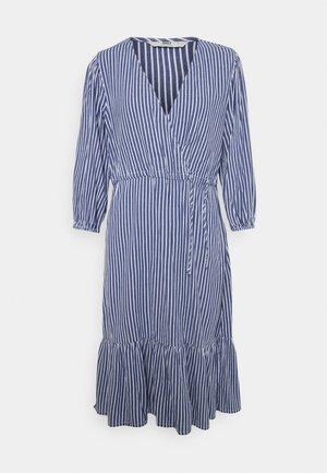 ONLKARIN STRIPE DRESS - Day dress - medium blue/cloud dancer