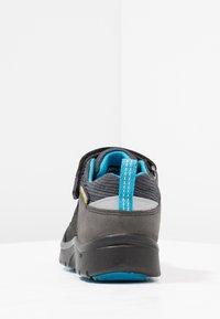 Keen - HIKEPORT WP - Hiking shoes - black/blue jewel - 3