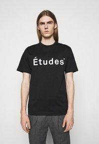 Études - UNISEX - T-shirt imprimé - black - 0