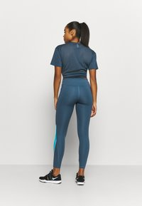 Under Armour - RUSH LEGGING - Tights - mechanic blue - 2