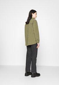 Topshop - Button-down blouse - khaki - 2