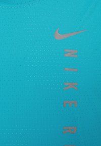 Nike Performance - MILER TANK HYBRD - Top - chlorine blue/silver - 2