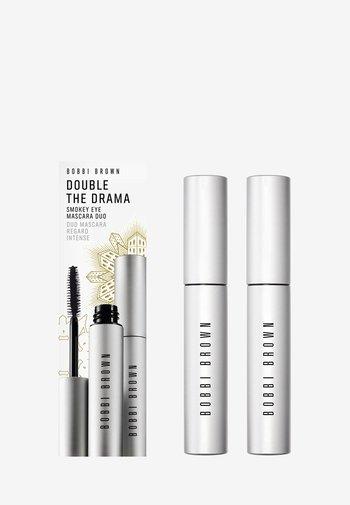 DOUBLE THE DRAMA SMOKEY EYE MASCARA DUO - Makeup set - Y1