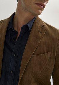 Massimo Dutti - Blazer jacket - brown - 3