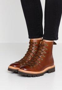 Grenson - NANETTE - Platform ankle boots - tan - 0
