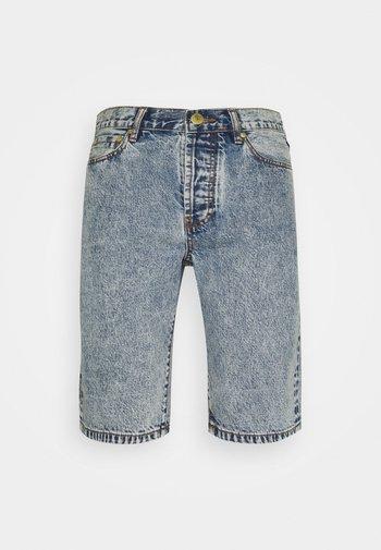 WORK - Denim shorts - bleached denim