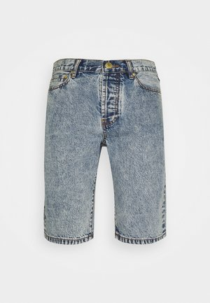 WORK - Jeans Shorts - bleached denim