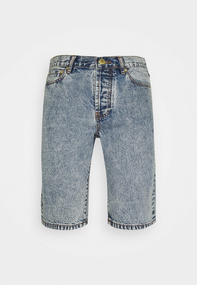 WORK - Shorts di jeans - bleached denim