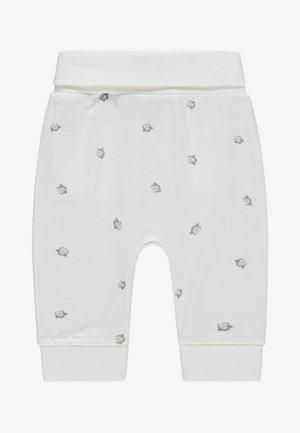 Tracksuit bottoms - off-white/light grey