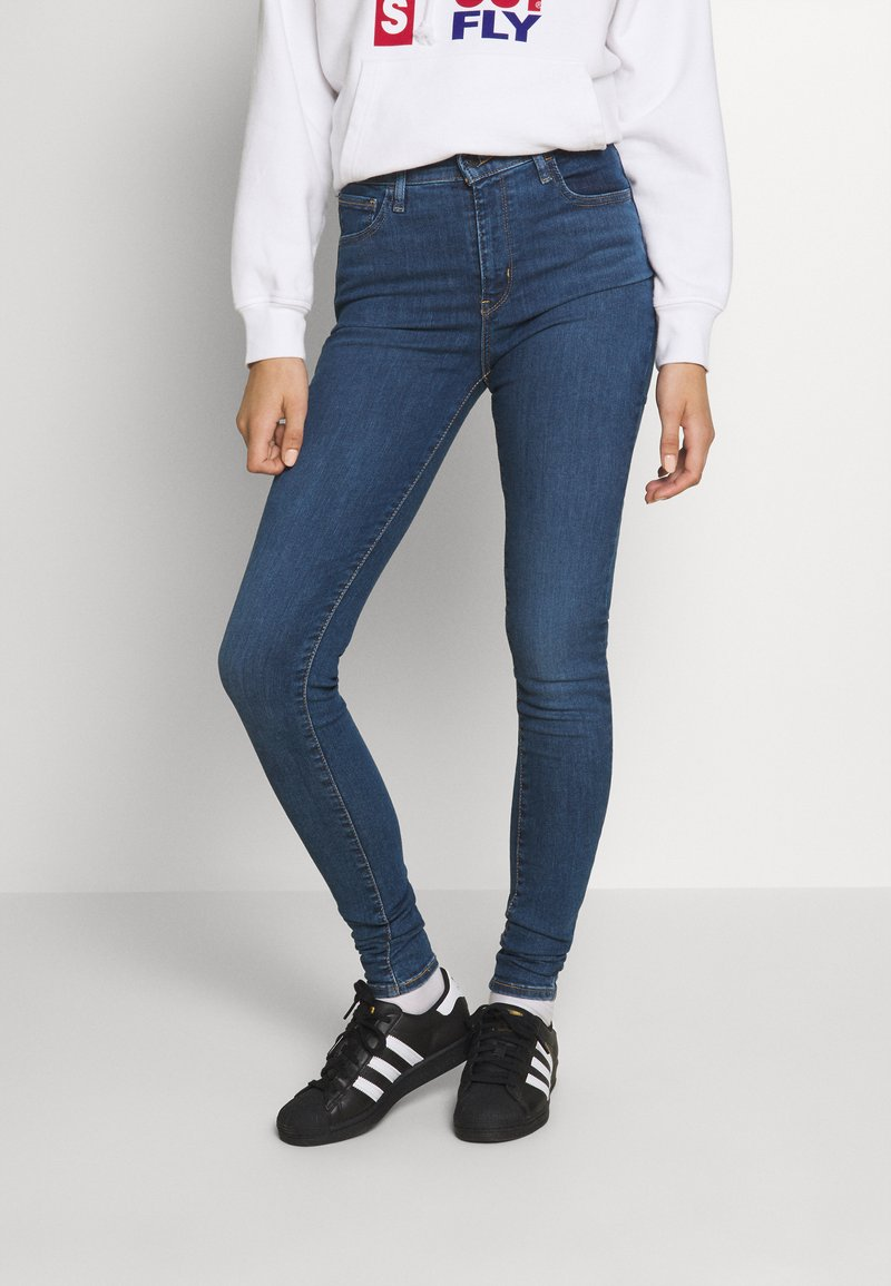 Levi's® - 720 HIRISE SUPER SKINNY - Jeans Skinny Fit - echo cloud