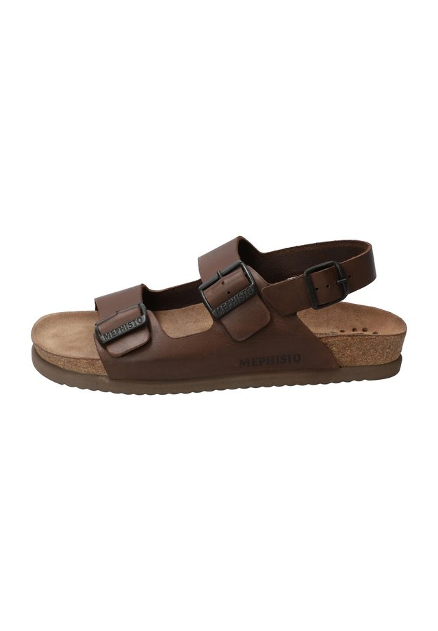 NARDO - Walking sandals - dark brown