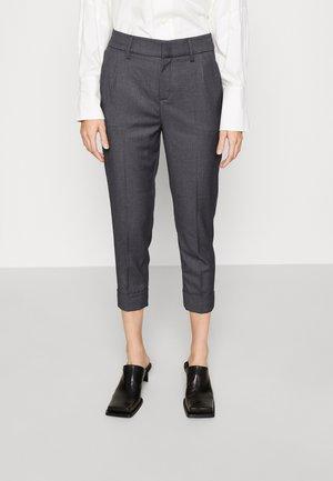 TRUE - Trousers - grey