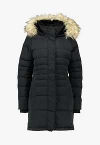 Hollister Co. - PUFFER PARKA - Dunkåpe / -frakk - black - 5