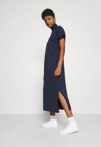 G-Star - NEW DISEM TURTLE DRESS  - Jersey dress - sartho blue - 4