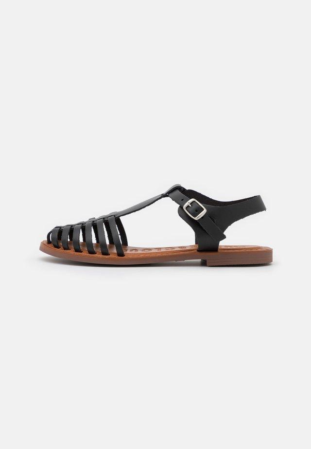 TULE - Sandali - black