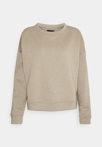 PCCHILLI - Sweater - silver mink