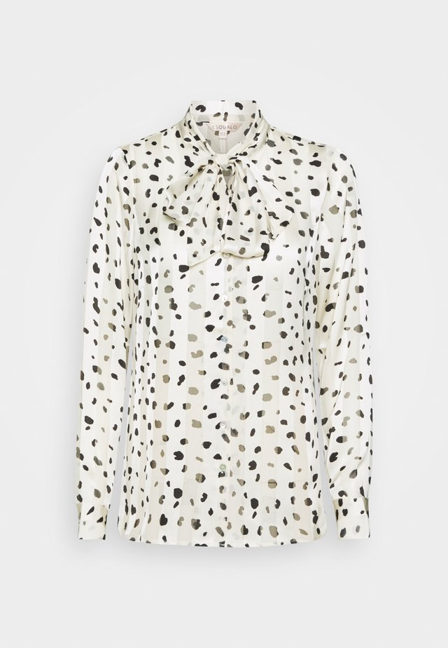 BLOUSE STRIPE SPOT - Skjorte - off white