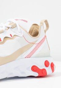 Nike Sportswear - REACT 55 - Trainers - white/desert ore/white/ember glow - 2