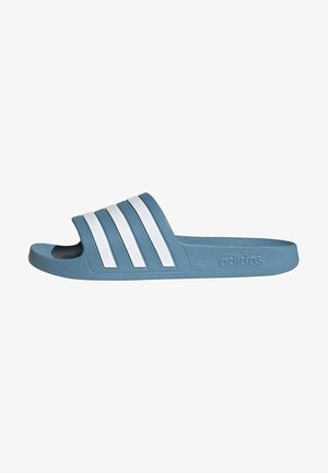 ADILETTE AQUA SLIDES - Pool slides - blue