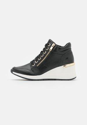 LOPEZ - Sneakers hoog - jet black