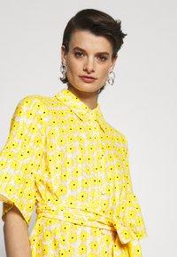 Diane von Furstenberg - BEATA DRESS - Shirt dress - sunshine yellow - 4