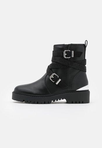 ORNINA - Cowboy/biker ankle boot - black