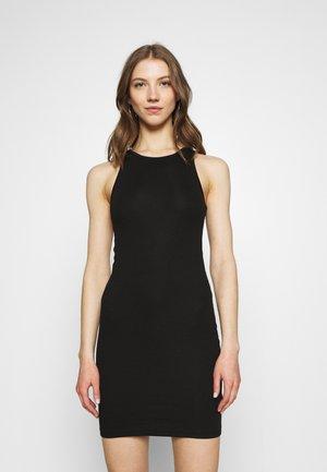 STELLA SHORT DRESS - Shift dress - black