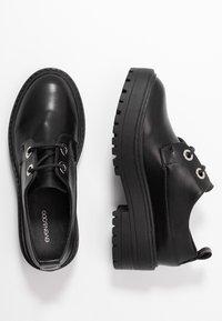 Even&Odd - Šněrovací boty - black - 3