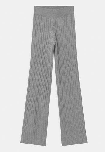 KITT - Trousers - grey melange