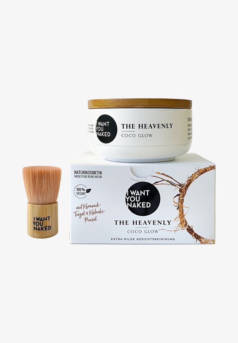 I WANT YOU NAKED - THE HEAVENLY COCO GLOWFACIAL CLEANSING SOAP - Bath and body set - -