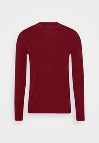 J.LINDEBERG - LYLE CREW NECK - Jumper - chili red - 4