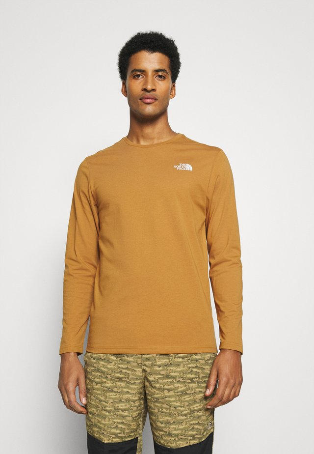 MENS EASY TEE - Long sleeved top - tan