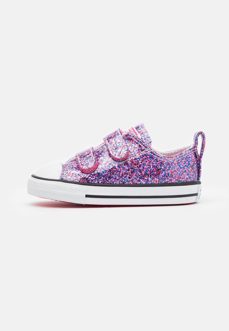Converse - CHUCK TAYLOR ALL STAR COATED GLITTER - Zapatillas - bold pink/white/black