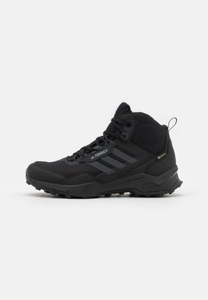 TERREX AX4 MID GTX - Hiking shoes - core black/carbon/grey four