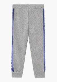 Diesel - Teplákové kalhoty - grey melange base contrast blue - 1