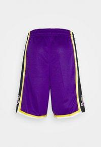 Nike Performance - NBA LA LAKERS SWINGMAN SHORT - Club wear - field purple/white - 1