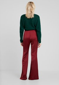 Pedro del Hierro - FLOWING TROUSER - Trousers - reds - 2