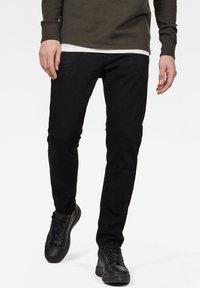 G-Star - 3301 SLIM - Slim fit jeans - pitch black - 0