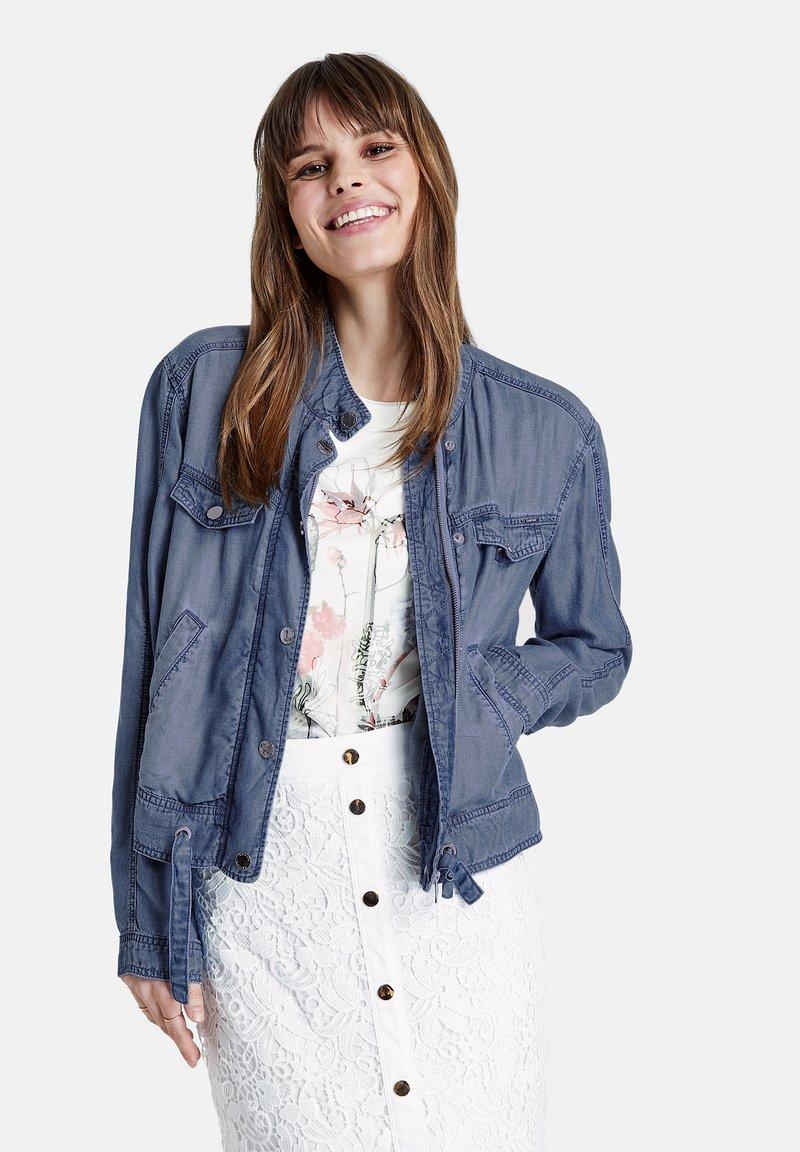 Taifun - Denim jacket - blue denim